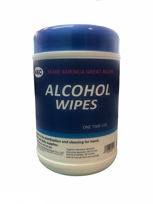 ALCOHOL DISINFECTANT SANITARY WIPES 60PCS