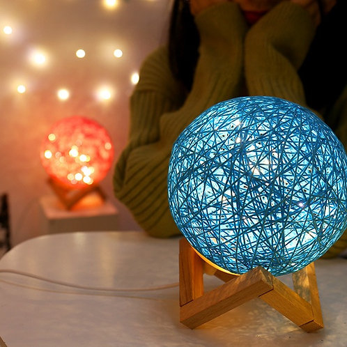 BOLA DE RATTAN CON LUZ LED RATTAN BALL WITH STAND