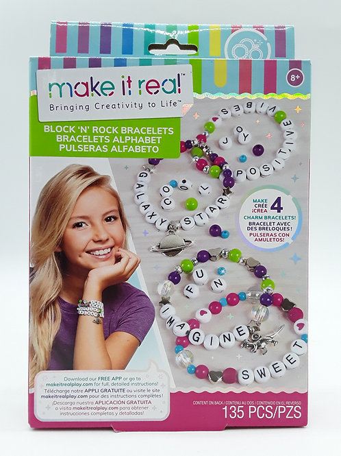 MAKE IT REAL BLOCK & ROCK C. BRACELETS