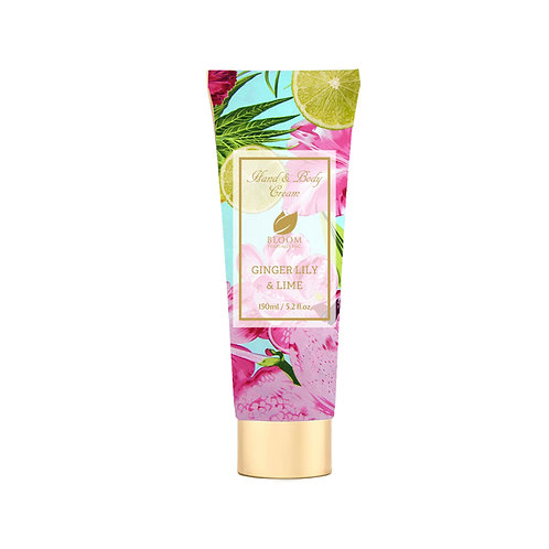 BLOOM BODY LOTION GINGER LILY & LIME 5.2 OZ