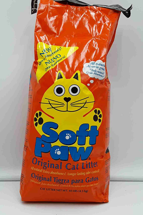 SOFT PAW CAT LITTER 10LBS