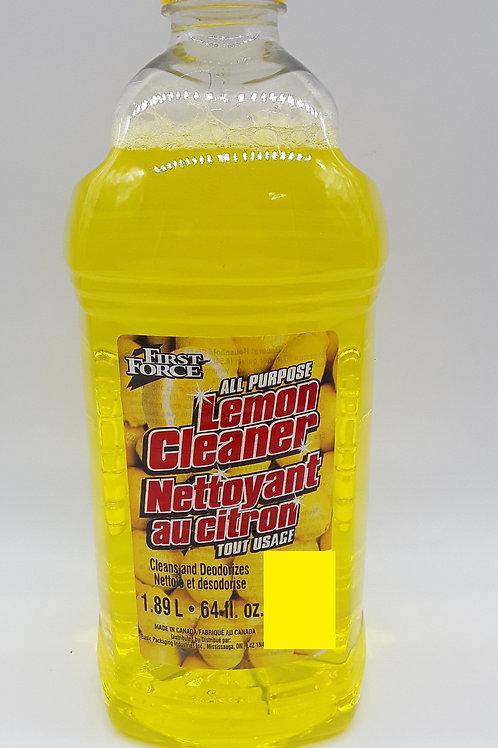 LEMON CLEANER 64 OZ