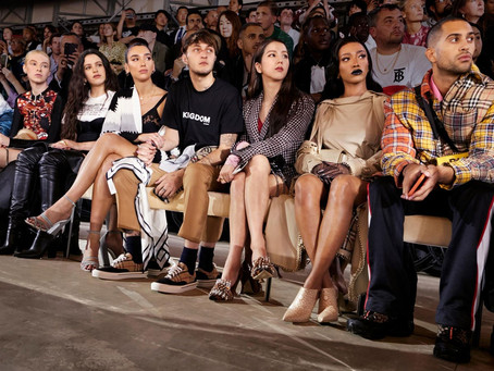 Taking Over The Front Row During Fashion Week