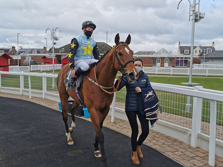 Lion Tower scores at Ayr