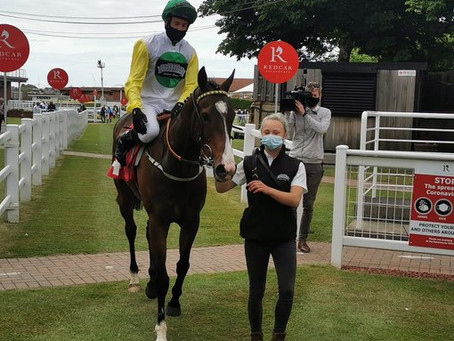 Out Of Breath completes Hat-Trick