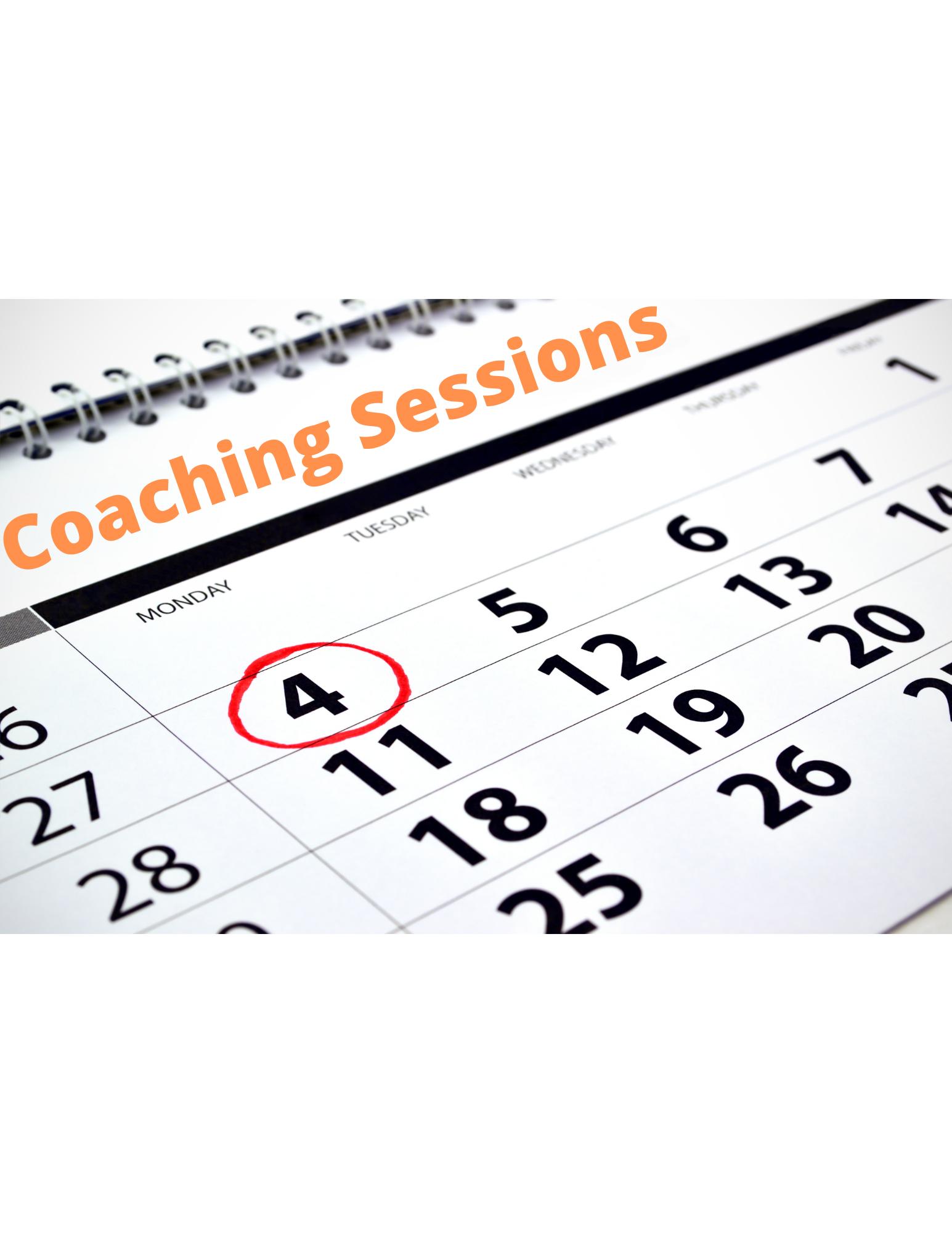 One Month Coaching Plan