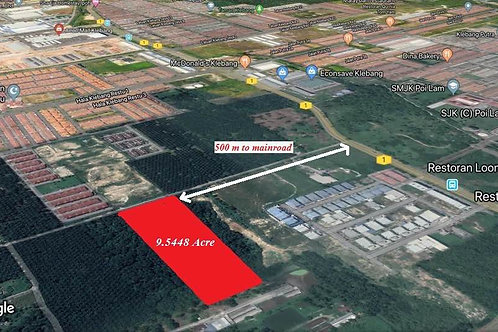 Potential Freehold Land For Sale in Klebang Ipoh