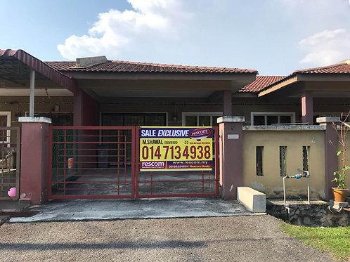 FREEHOLD Single Storey Terrace Taman Seri Paya Rumput Masjid Tanah