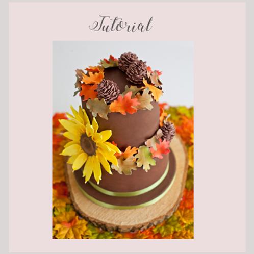 Autumn Cake Tutorial