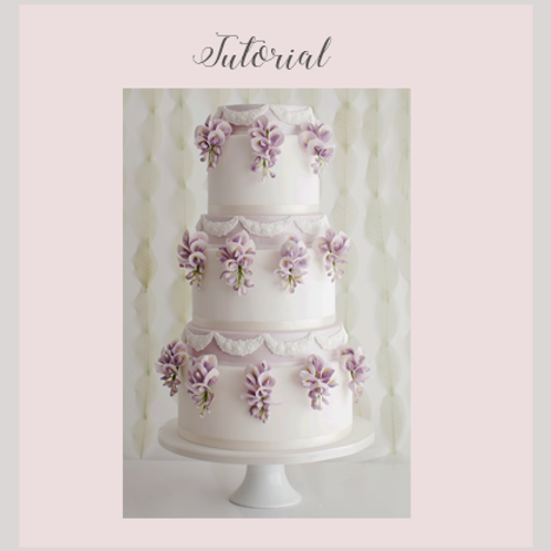 Wisteria Wedding Cake Tutorial