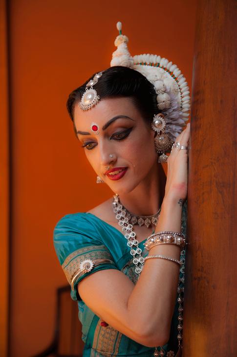 Portrait Photoshoot, Odissi Dancer