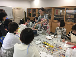 2017読売カルチャー京葉校レッスン風景