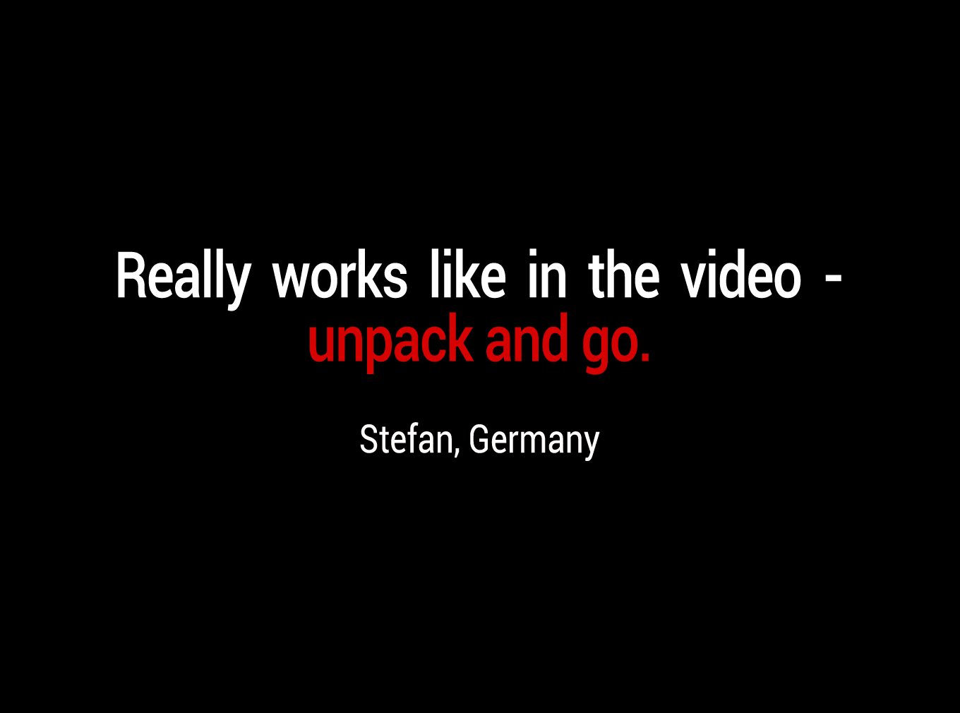 Really works like in the video