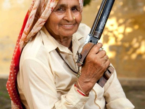 Video: 84 Years Old Pistol Shooter Shoots Sharp And Trains Young