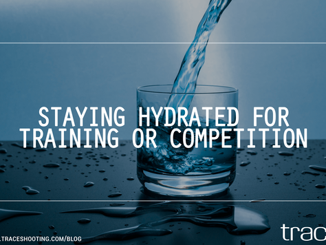 Staying Hydrated For Training Or Competition