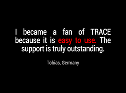 I became a fan of TRACE