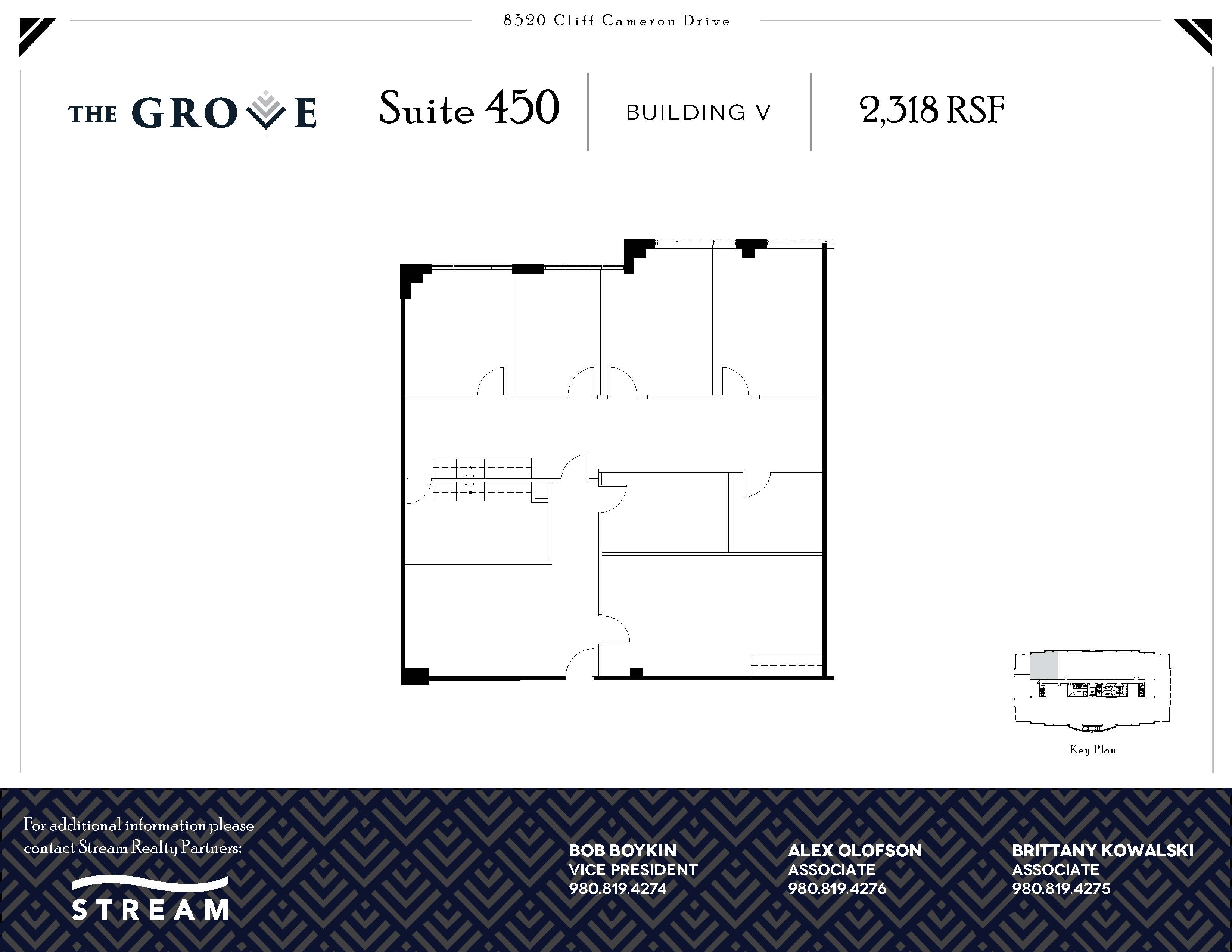 The Grove V [8520] -- Suite 450 -- 2,318