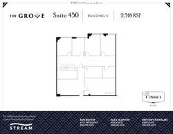 The Grove V [8520] -- Suite 450 -- 2,318