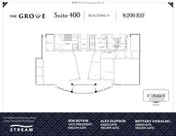 The Grove V [8520] -- Suite 400-- 8,296