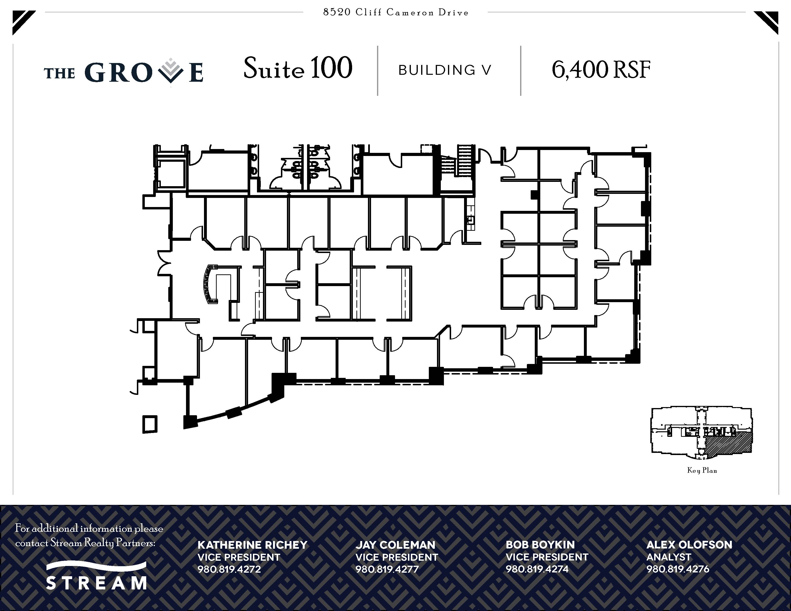 The Grove V [8520] -- Suite 100-- 6,400 RSF