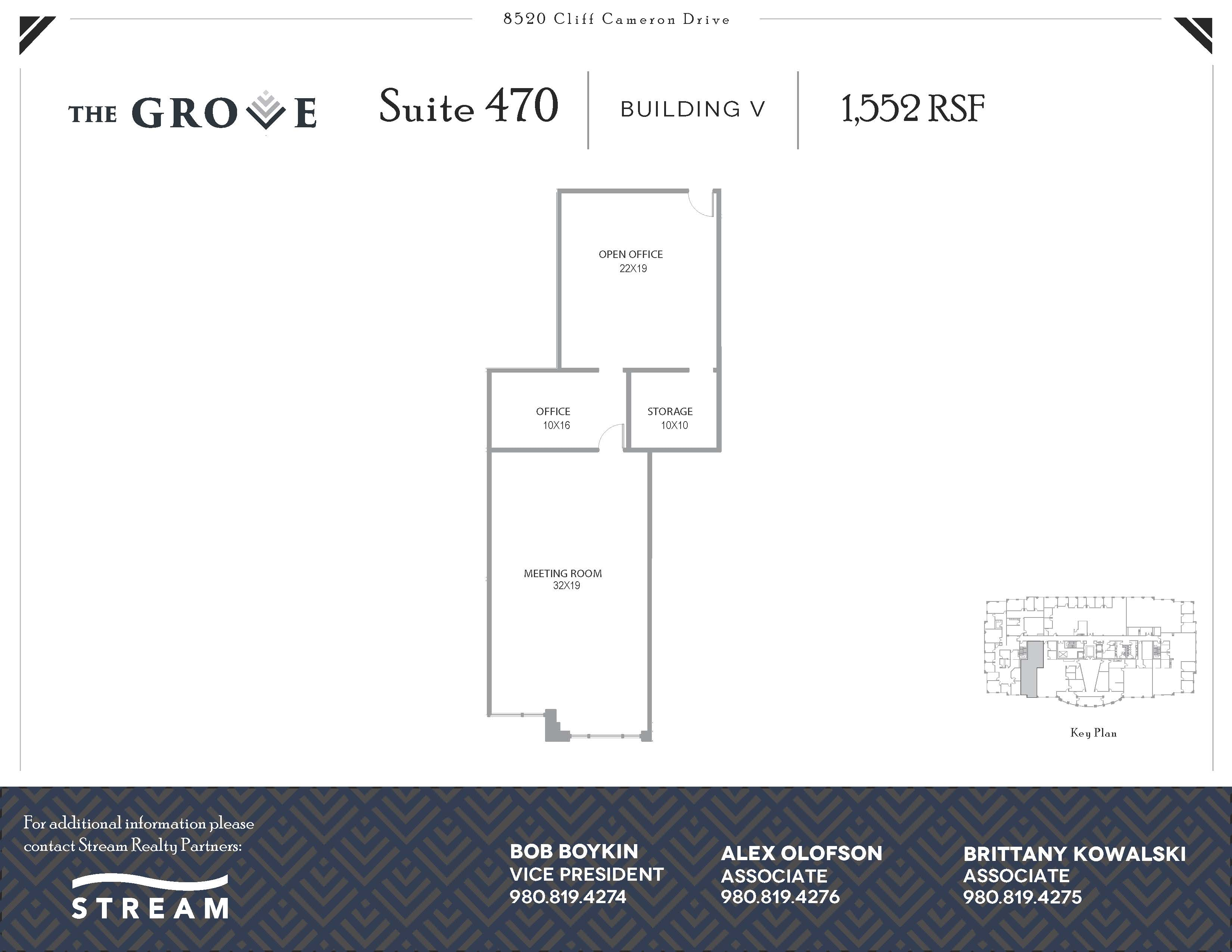 The Grove V [8520] -- Suite 470-- 1,552