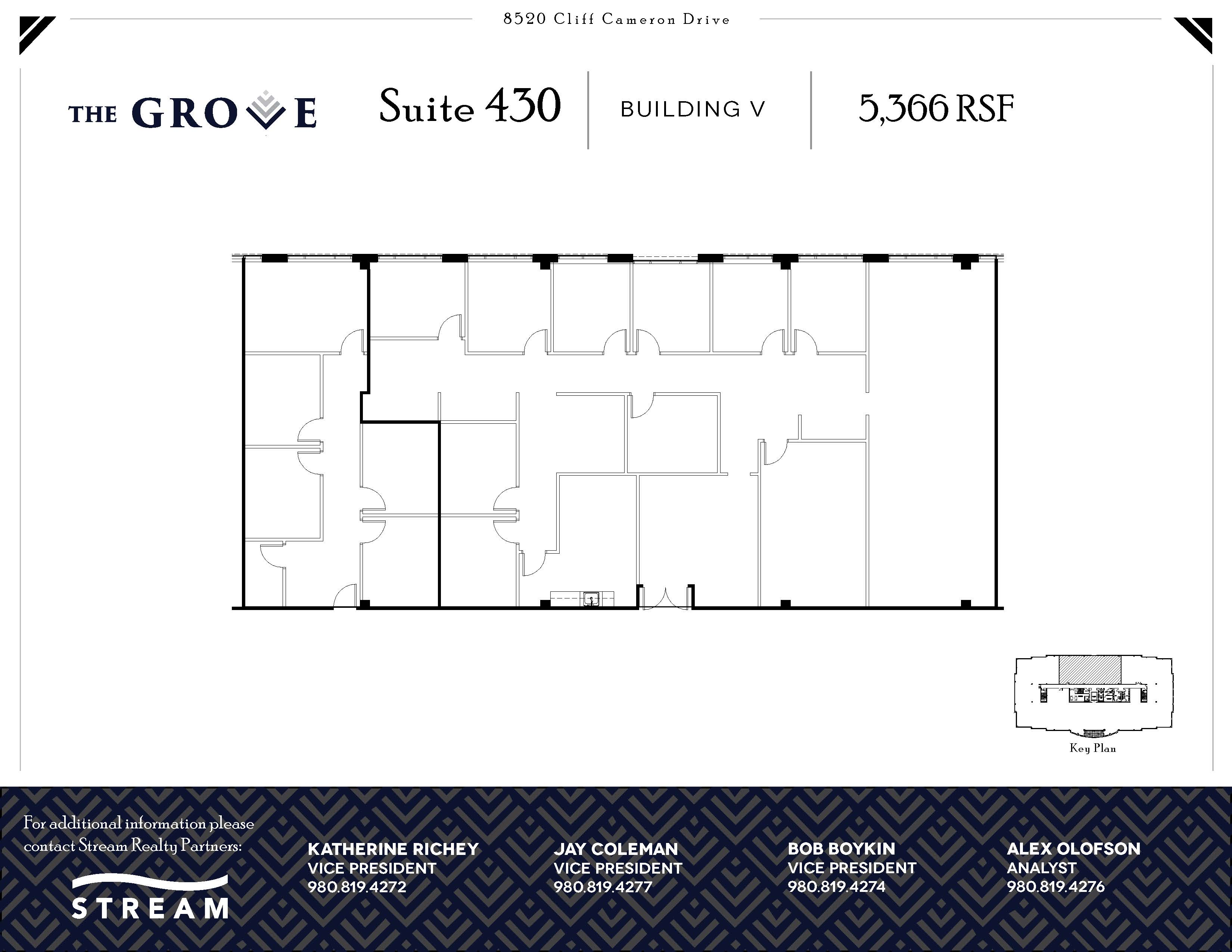 The Grove V [8520] -- Suite 430 -- 5,366 RSF