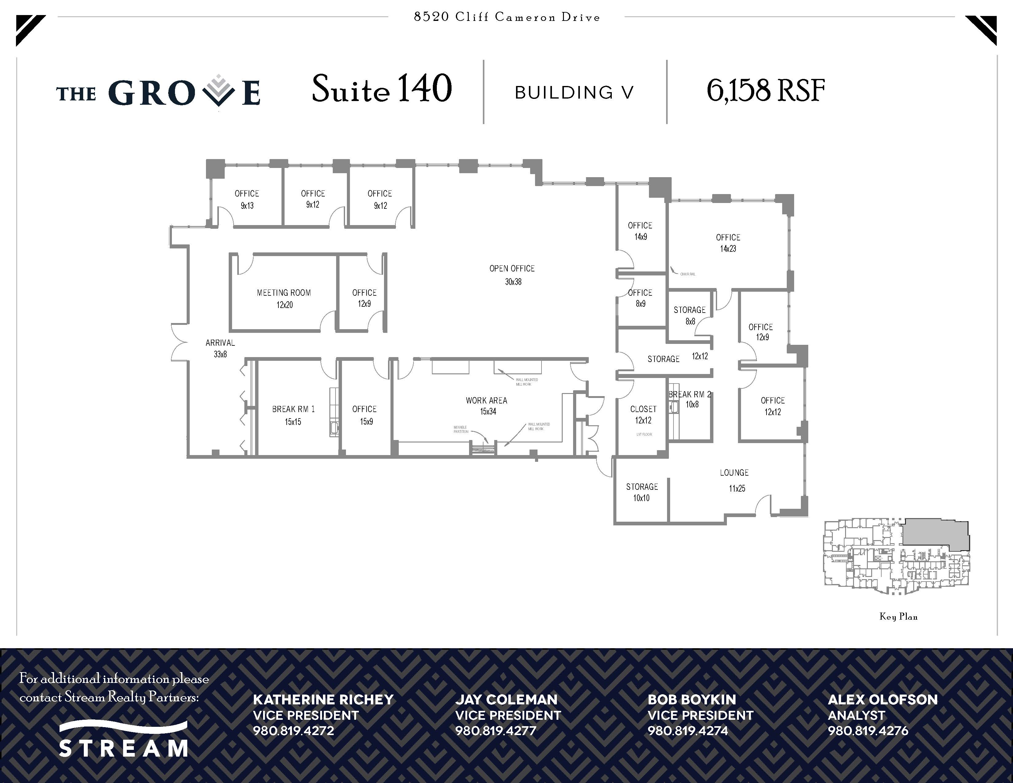 The Grove V [8520] -- Suite 140 -- 6,158 RSF