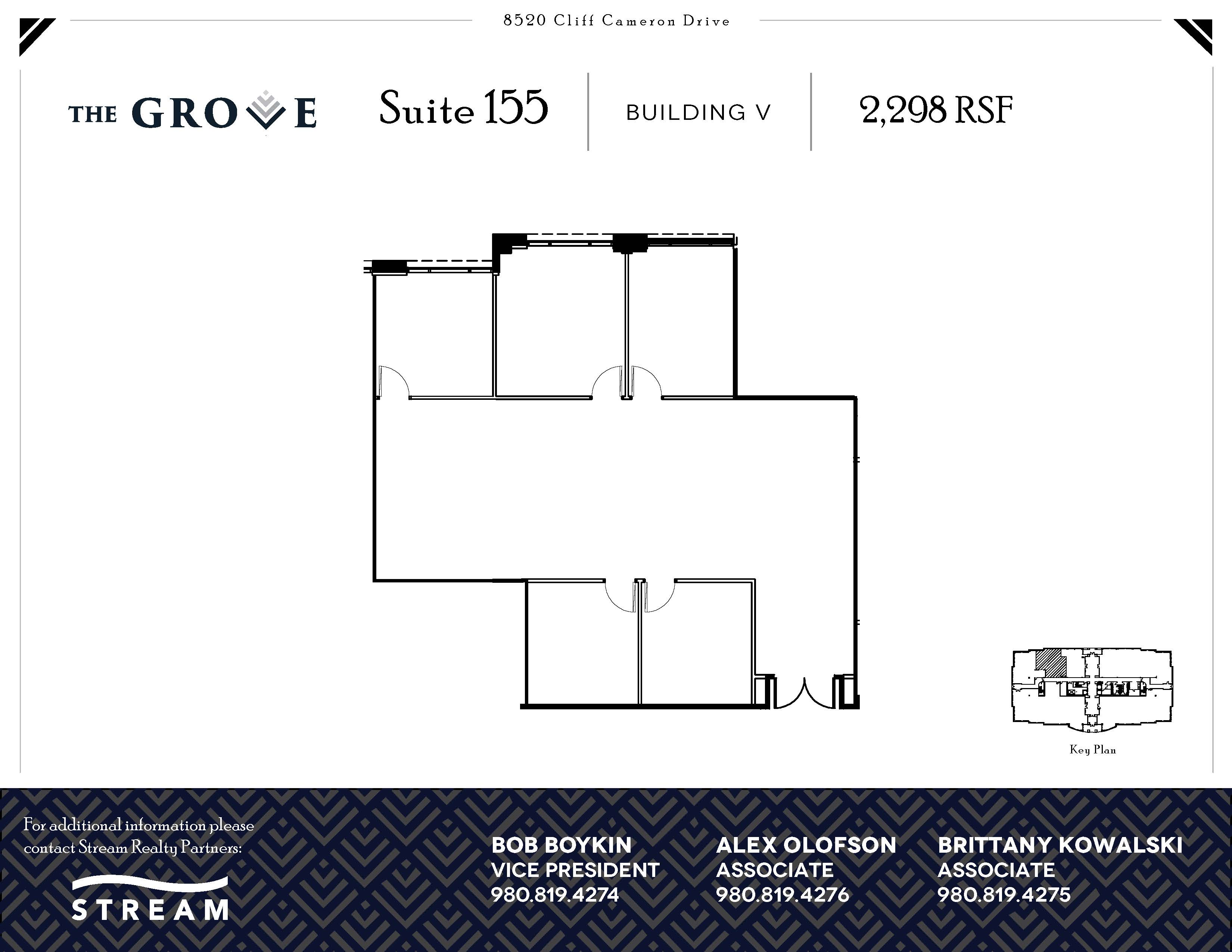 The Grove V [8520] -- Suite 155 -- 2,298