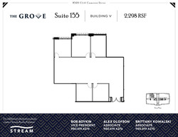 The Grove V [8520] -- Suite 155 -- 2,298