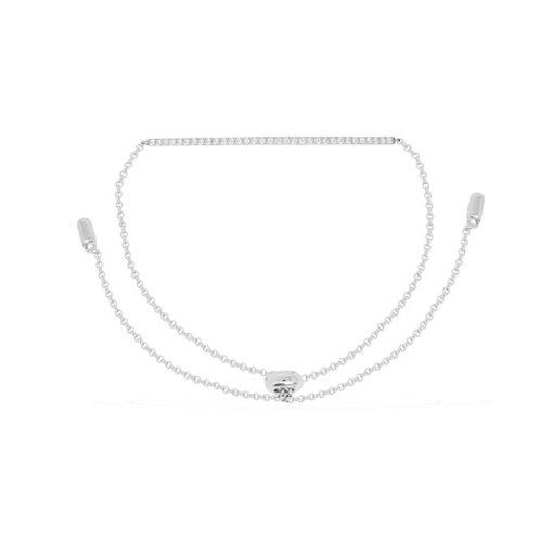 AB2785OX APM Monaco CROISETTE Armband Silber