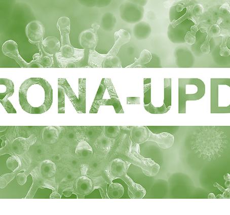 Unterbrechung der laufenden Saison aufgrund der Corona-Pandemie