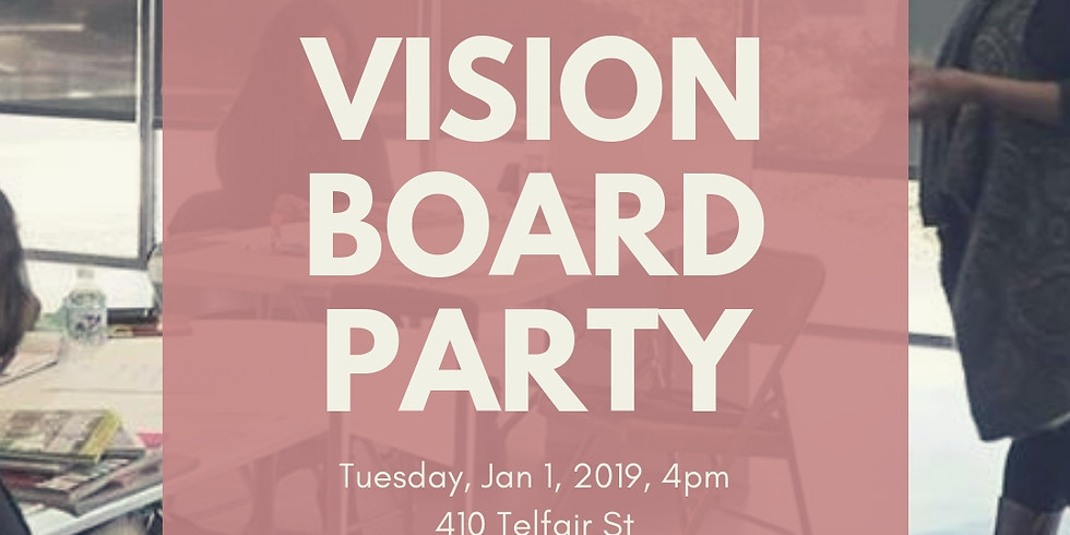 2019 Vision Board Strategy Workshop