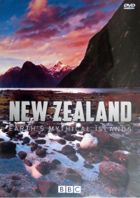 """""""New Zealand: Earth's Mythical Islands"""" DVD gifted to me from the BBC during filming at Stewart Island"""