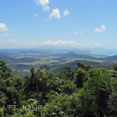 View to Cape Tribulation, Daintree Rainforest