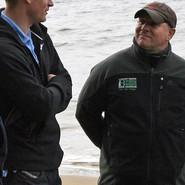Prince Harry meets Chairman of the Ulva Island Charitable Trust