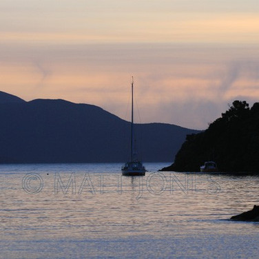 Deep Bay at sunset