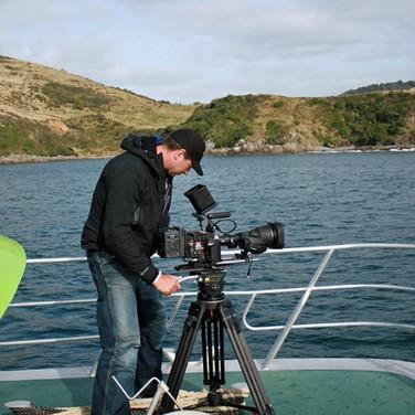 BBC Award-winning wildlife cameraman, Mark MacEwan
