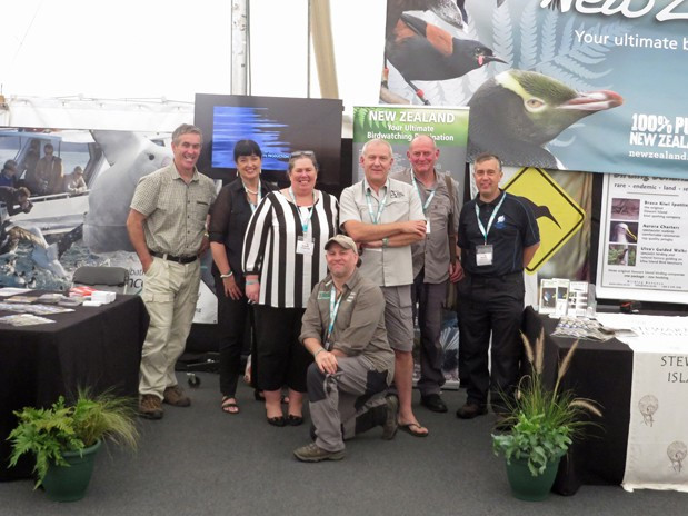 Paul, Lynette, Wendy, me, Sav, Gary & Chris at the British Birdwatching Fair 2015