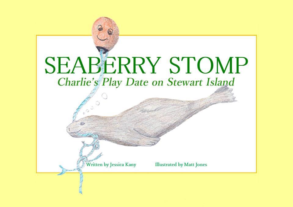 Seaberry Stomp - a Stewart Island childrens' book