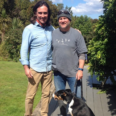 A dog's life! Neil Oliver, me and Nonu