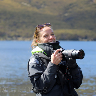 Courtney Rayes, Heritage Expeditions' crew