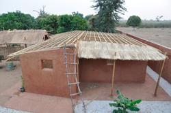 début du toit