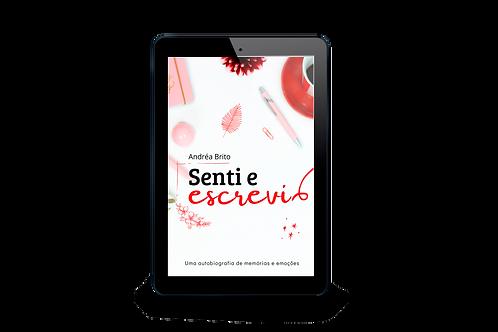 E-book Senti e Escrevi - Andréa Brito