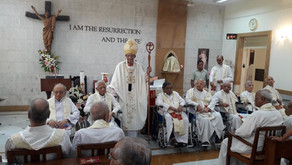CARDINAL OSWALD - RETIRED PRIESTS ARE 'BURNING FURNACES OF PRAYER'