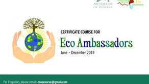 ARCHDIOCESAN OFFICE FOR ENVIRONMENT LAUNCHED CERTIFICATE COURSE FOR ECO AMBASSADORS