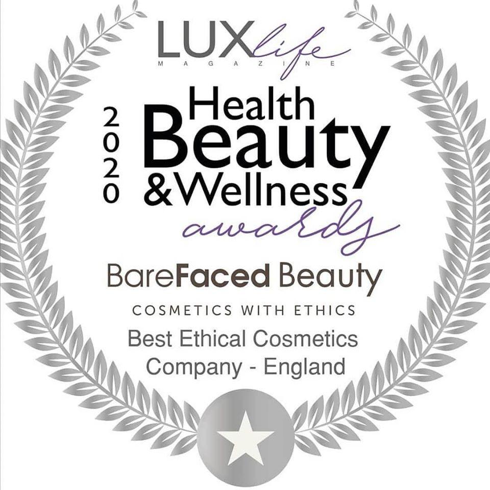 BareFaced Beauty on saanut Englannin ekologisimman kosmetiikkayrityksen palkinnon 2020