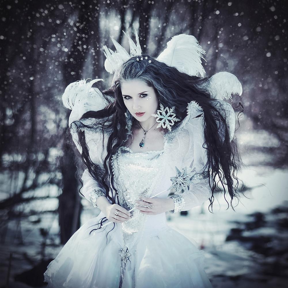 Värivuodenajat talvi