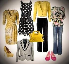 valitse omaan vaatekaappiisi sinulle sopivia ja oikeanvärisiä vaatteita.