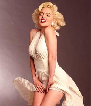 Marilyn Monroen naiselliset muodot