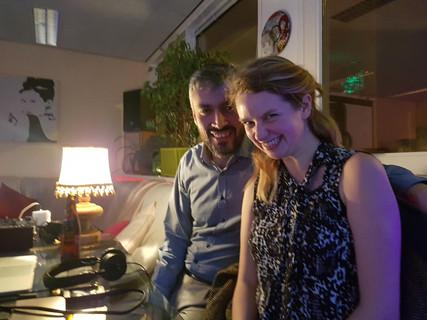 Mariposa & Serdar djiing in our milonga <3